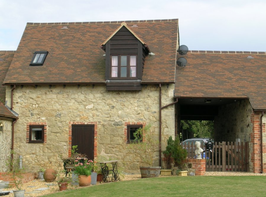 Front of Kitty's Loft, self-catering holiday cottage, Isle of Wight